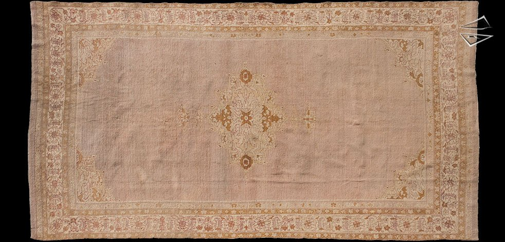 8x15 Antique Agra Rug