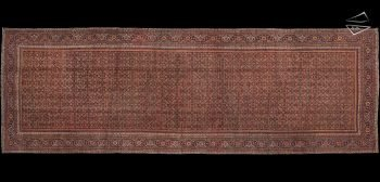 12x36 Antique Persian Feraghan Rug