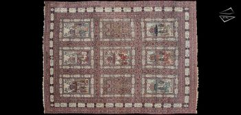 18x24 Antique Persian Kerman Rug