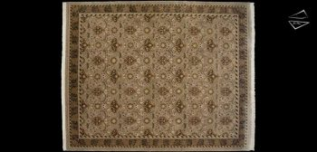 12x15 Arts and Crafts Voysey Rug