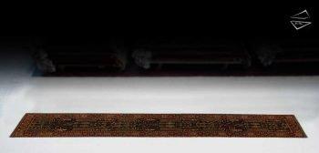 2.5x14 Bakhtiari Design Rug Runner