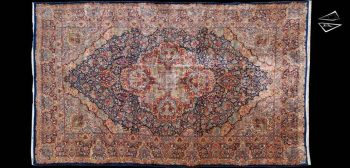 Large Blue Persian Rug