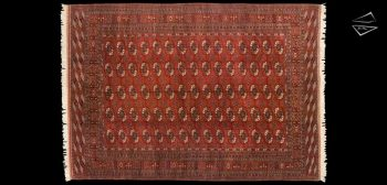 7x10 Bokhara Design Rug