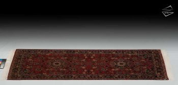 3x7 Dabir Kashan Design Rug Runner