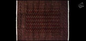 12x15 Fine Bokhara Rug