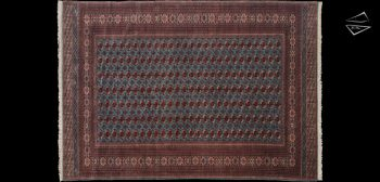 12x17 Fine Bokhara Rug