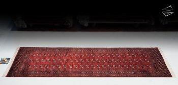 5x12 Fine Bokhara rug runner