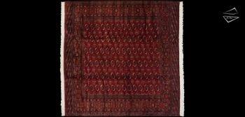 10x10 Fine Bokhara Square Rug