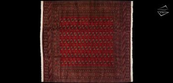 12x13 Fine Bokhara Square Rug