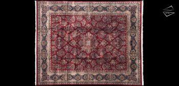 12x15 Fine Sarouk Design Rug