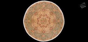 12x12 Fine Savonnerie Design Round Rug