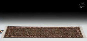 2.5x9 Fine Yezd Design Rug Runner