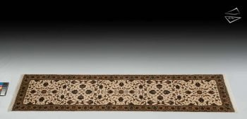 "2'7""x10 Isfahan Design Rug Runner"