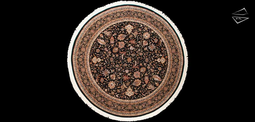 12x12 Isfahan Design Round Rug