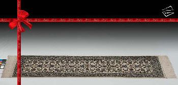 2.5x9 Kashan Design Rug Runner