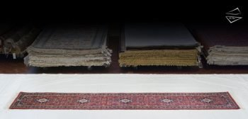 3x14 Kashan Design Rug Runner