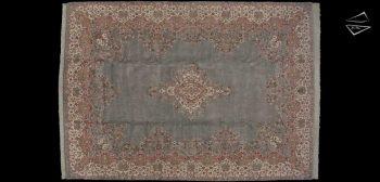 10x14 Kerman Design Rug