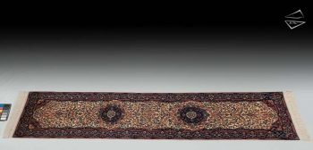 "2'6""x10 Kerman Design Rug Runner"