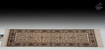 3x7 Kerman Design Rug Runner