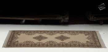 3x8 Kerman Design Rug Runner