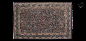 9x14 Kerman Design Rug