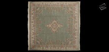 10x10 Kerman Design Rug