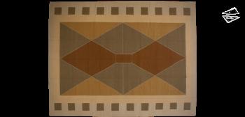 11x14 Modern Dhurrie Rug