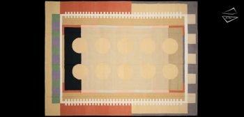 9x12 Modern Dhurrie Rug