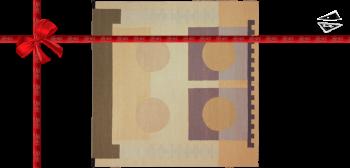 12x12 Modern Design Kilim Style Rug