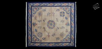 12x13 Peking Design Square Rug