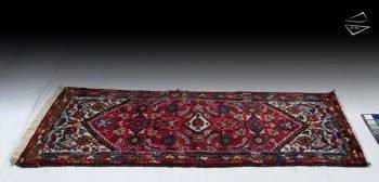 2x5 Persian Amrabad Rug Runner