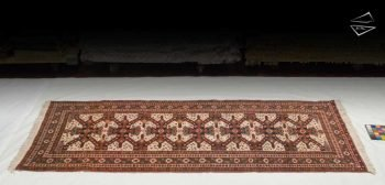 5x10 Persian Ardebil Rug Runner