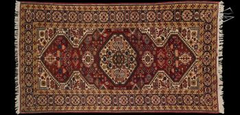 5x9 Persian Ardebil Rug