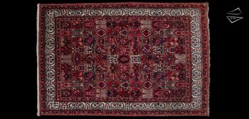 8x12 Persian Bakhtiari Rug