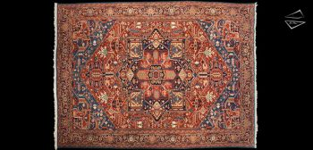11x15 Persian Bakshaish Rug