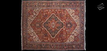 12x15 Persian Bakshaish Rug
