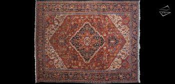 12x15 Persian Bakshaish Rug