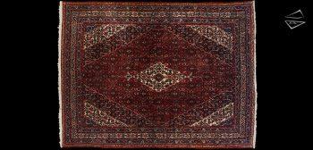 10x13 Persian Bibikabad Rug