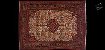 8x12 Persian Bijar Rug