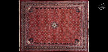 9x12 Persian Bijar Rug