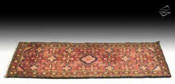 3x7 Persian Borchalou Rug Runner