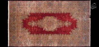 11x19 Persian Cyrus Crown Kerman Rug