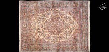 12x15 Persian Cyrus Crown Kerman Rug