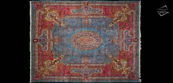 12x16 Persian Cyrus Crown Kerman Rug