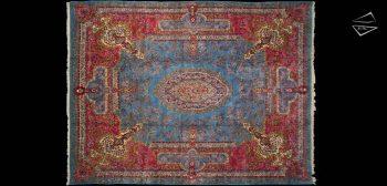 12x16 Persian Cyrus Crown Kerman Rug