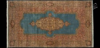 12x21 Persian Cyrus Crown Kerman Rug