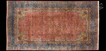 12x22 Persian Cyrus Crown Kerman Rug