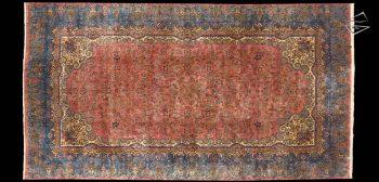 12x22 Persian Cyrus Crown Kerman Rug