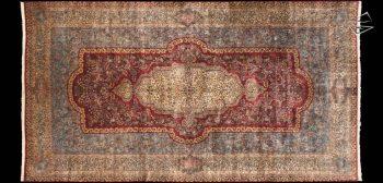 12x23 Persian Cyrus Crown Kerman Rug