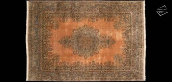 13x19 Persian Cyrus Crown Kerman Rug